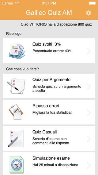 Galileo Quiz AM