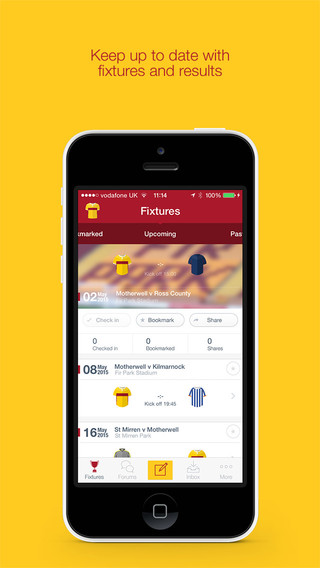 Fan App for Motherwell FC