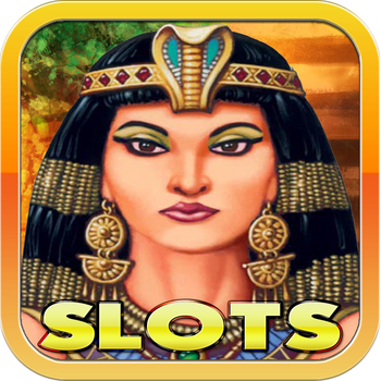 Cleopatra's Treasure - Pharaoh's casino slot machine 777 LOGO-APP點子