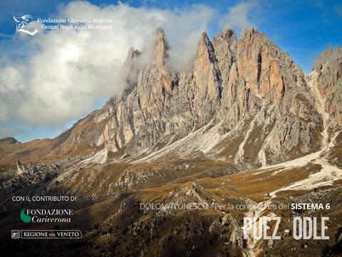 DolomitiAPP - Sistema Dolomiti UNESCO 6 - PUEZ ODLE