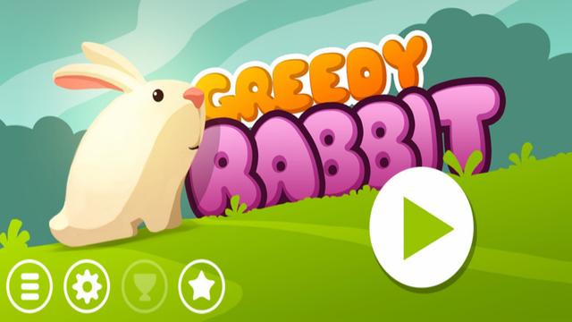 Greedy Rabbit Bunny - 最好的免费游戏的孩子和成人。
