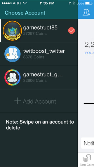 JustFollow - Get Instagram Followers Screenshots