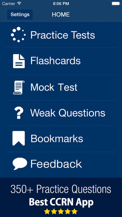 AACN CCRN Practice Test Prep Exam Questions on the App Store