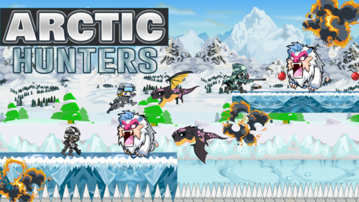 Arctic Hunters - Battle of Men From Neanderthal and Dinosaurs in the Wilderness