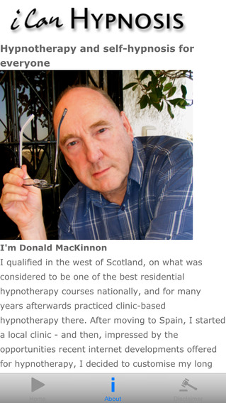 Anxiety Free: iCan Hypnosis with Donald Mackinnon. Reduce stress relax and learn self hypnosis