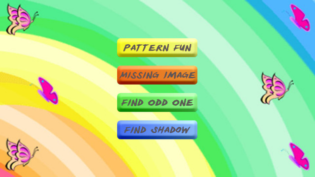 Learning Patterns Free - Preschool Logic Game