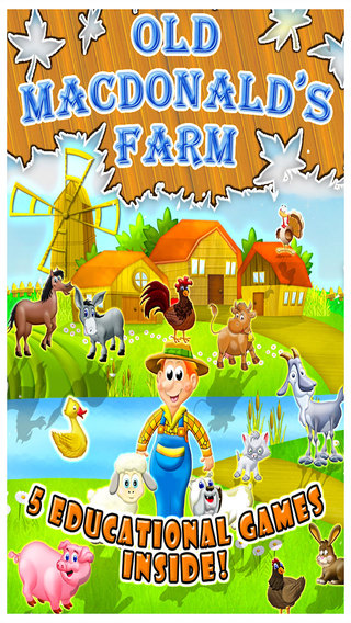 Old Macdonald Had a Farm - All In One Activity Center and Full Interactive Sing Along Book for Child