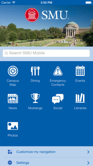SMU Mobile App