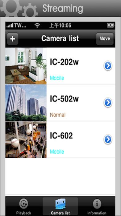 mKRAUNView iPhone Screenshot 1