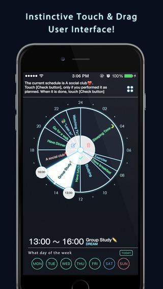 Daily Scheduler - 3CYCLE - 每日计划安排[iPhone][¥18→0]丨反斗限免