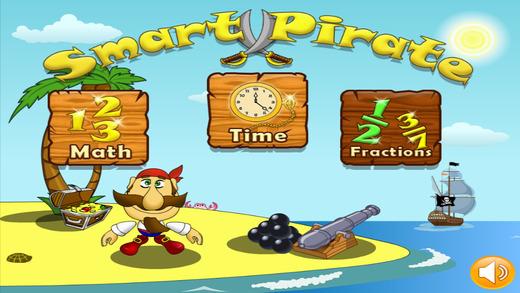 Math Pirates. Read Clocks