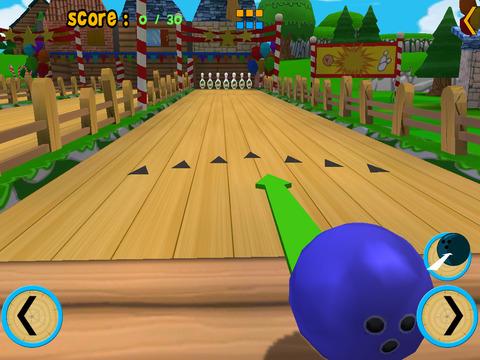 turtles bowling for children iPad Screenshot 2