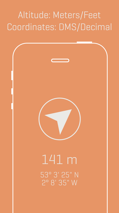 Alti - Minimalist Travel Altimeter & Compass Screenshots