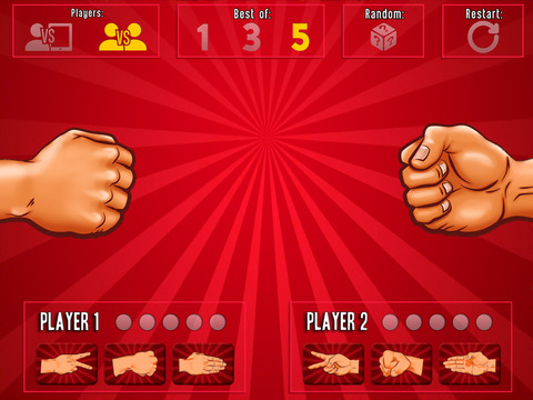 Rock Paper Scissors (RPS) iPad Screenshot 1