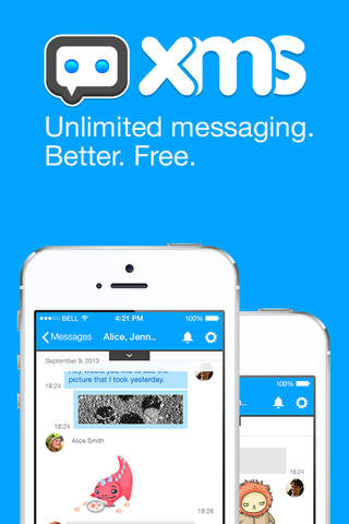 XMS - Unlimited messaging. Better. Free.