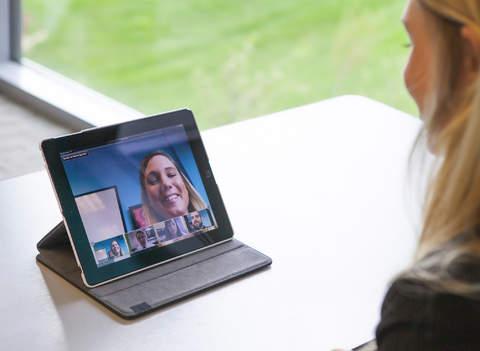 Webinar iPad
