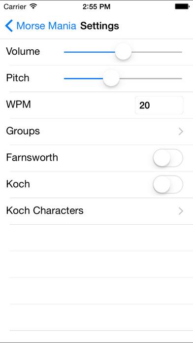 Morse Mania iPhone Screenshot 3