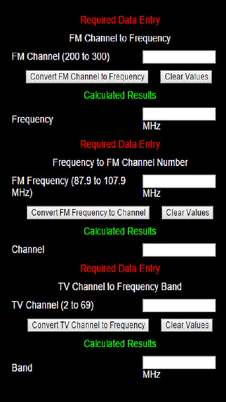 FM TV Frequency Converter