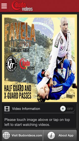 Fernando Terere Favela BJJ Vol 3 Half Guard and X-Guard Passes