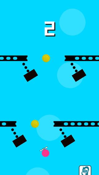 Amazing Geometry Swing Dash with Dot Brick Triangle