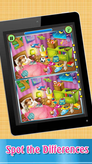 Spot The Difference - Free photo puzzle game for family