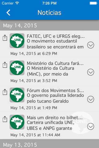 União Nacional dos Estudantes screenshot 3