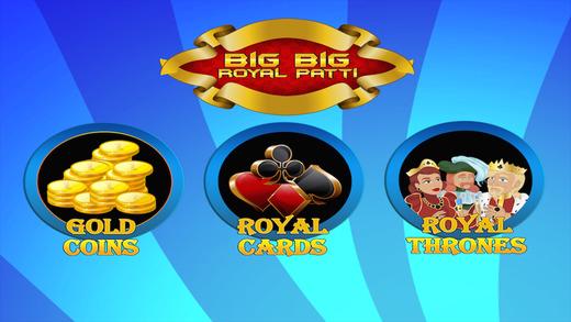 Big Big Royal Patti - Casino Slots Free Game