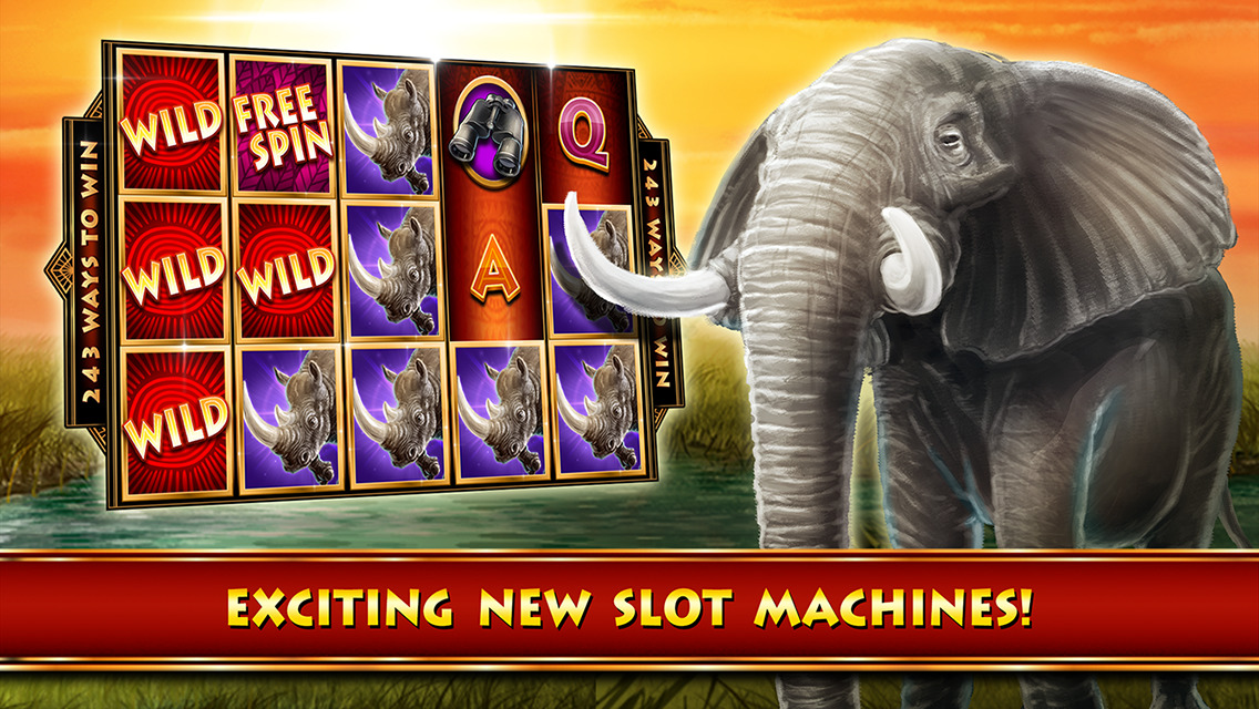 Cheetah chase slot machine
