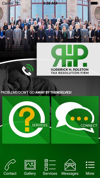 Roderick H. Polston Tax Resolution Firm