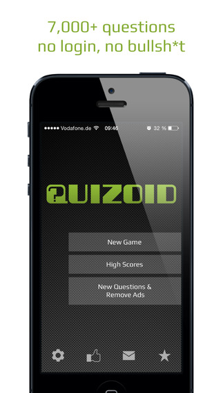 Quizoid - a multiple-choice quiz game like Jeopardy or Trivial Pursuit