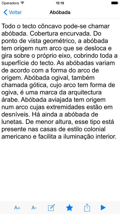 Dicionário Engenharia Civil iPhone Screenshot 2