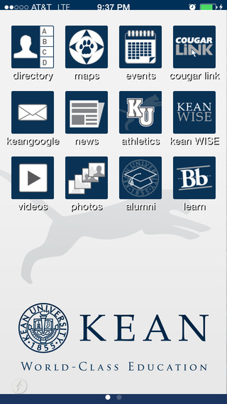 Kean Mobile iPhone Screenshot 1