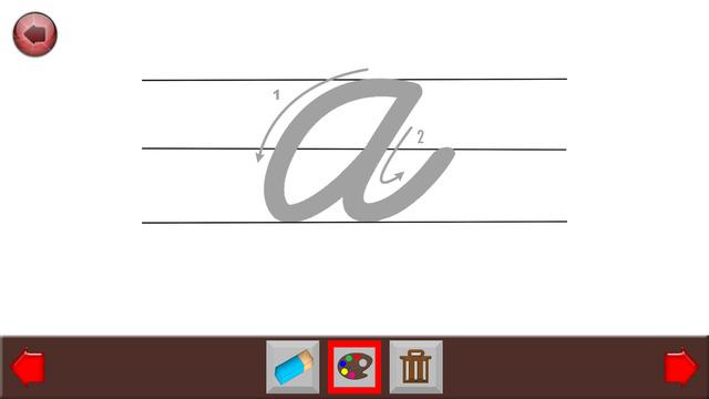 Learn English Cursive Writing: Cursive Alphabets W