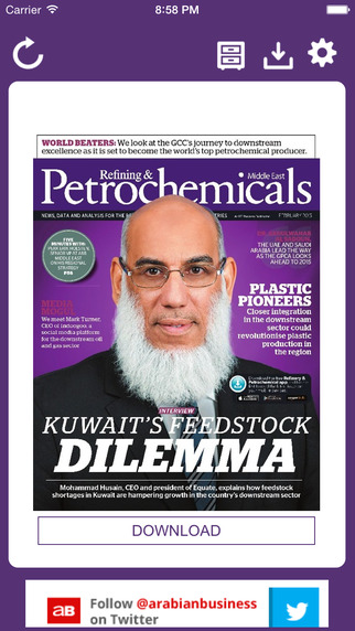 Refining Petrochemicals Middle East