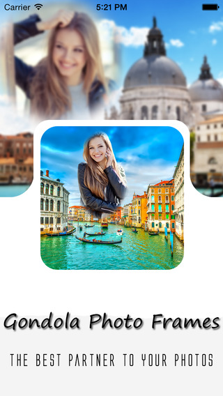 【免費攝影App】Gondola Photo Frames-APP點子