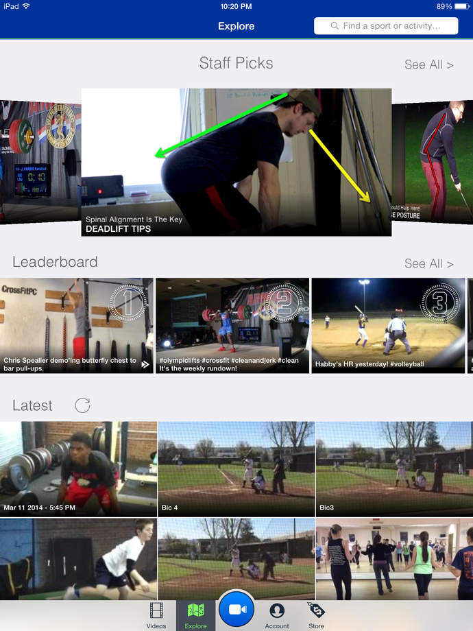 Coach's Eye - Instant Replay Video Analysis - iPhone Mobile Analytics and App Store Data