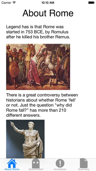 Ancient Rome History Guide