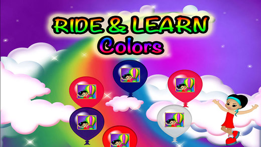 Balloons Colors Preschool Learning Experience Simulator Game