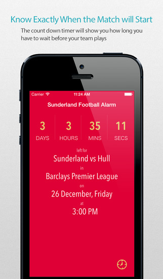 Sunderland Football Alarm Pro — News live commentary standings and more for your team