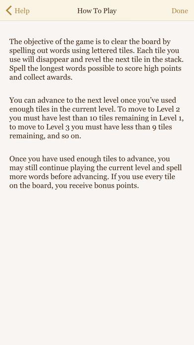 Wordology iPhone Screenshot 3