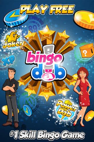 Screenshot 1 BingoDab - Free Bingo Casino Games