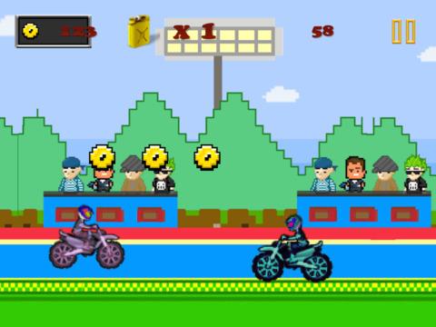 Acrobatic Motorcycle Stuntman Racing : Extreme Backflip Excitement FREE iPad Screenshot 4