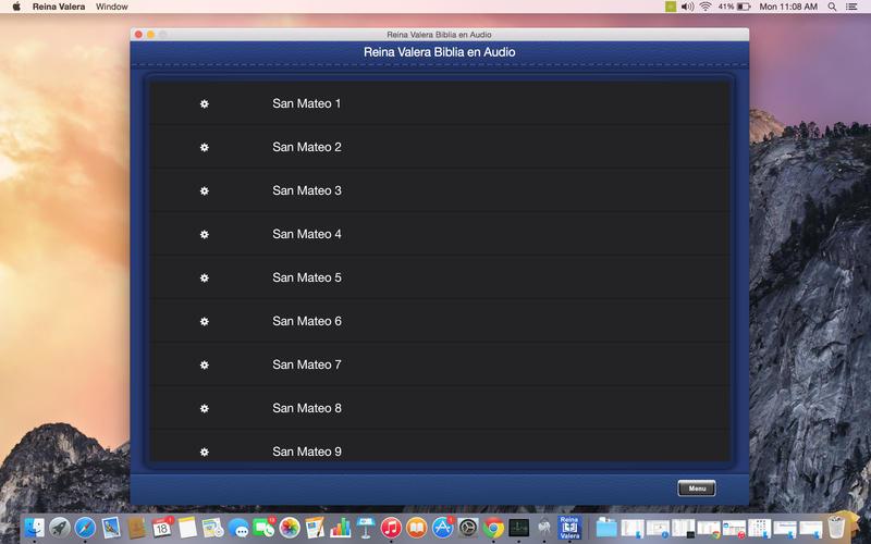 Reina Valera Biblia en Audio Screenshot - 2