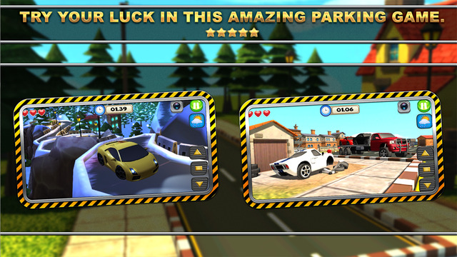 SportsCar Parking Mania - Drive Your Car to the Safety Area