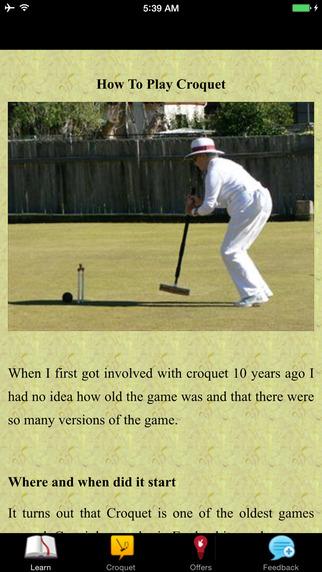 How To Play Croquet - Backyard Croquet