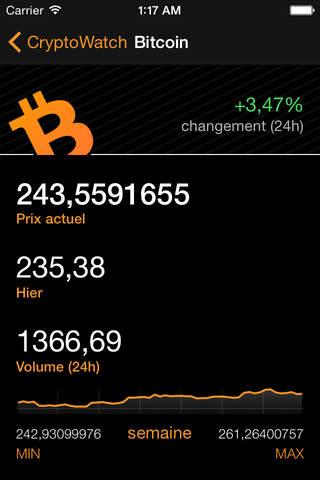 Crypto Pro: Bitcoin Ticker screenshot 1