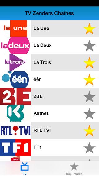 Liste des programmes Belgique : Programme TV Live