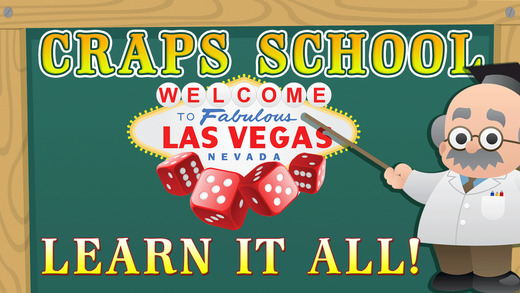 ```Craps School``` - Learn How To Play Craps with Dice Game Simulator