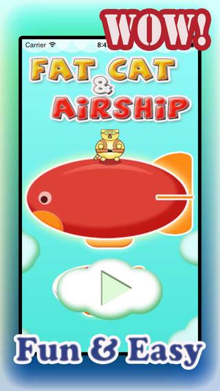 Fat Cat Jumps Off Airship
