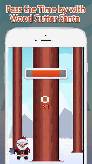 Wood Cutter Santa - Awesome Christmas Game to Pass Time by